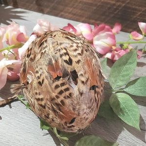 2 for 15$ Feathered egg  decoration Easter